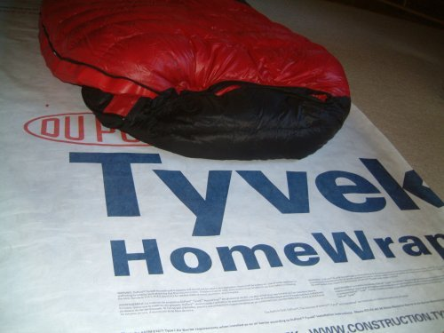 Tarp Tab - 6 X 9 Foot Tyvek Ground Sheet or Tarp with 4 Adhesive Grommet Tabs from Campcovers