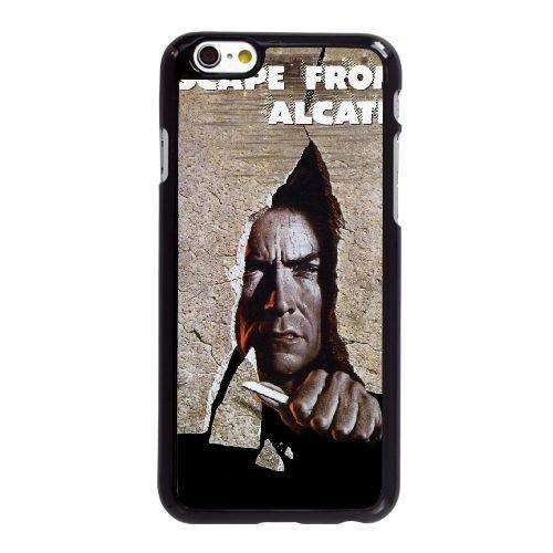 Escape from Alcatraz B3S35 Haute Résolution Affiche Z6D5CD coque iPhone 6 4.7 pouces Cas de couverture de téléphone portable coque noire XA5TCZ4IT