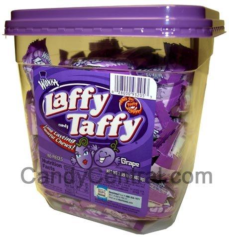 Laffy Taffy Tub Grape (165 Ct) (165 Tub Ct)
