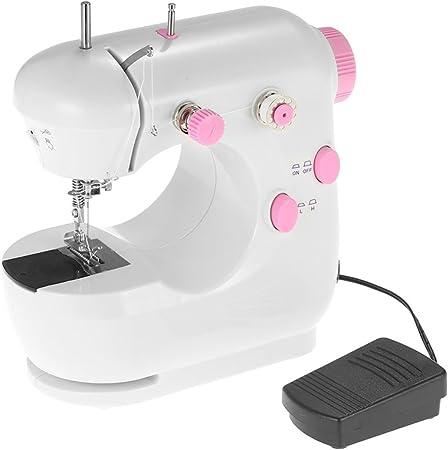 Decdeal - Multifuncional Mini Máquina de Coser Eléctrica Doméstica ...