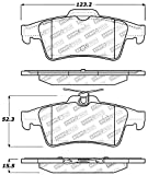 StopTech 309.10950 Street Performance Rear Brake Pad