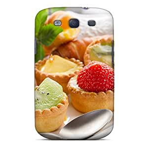 New FMZeIoO6614DKlfg Pastry Tarts Tpu Cover Case For Galaxy S3