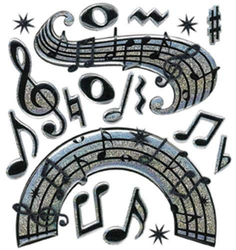Jolee's Boutique Music Notes Dimensional Stickers (Simply Tool Crazy)