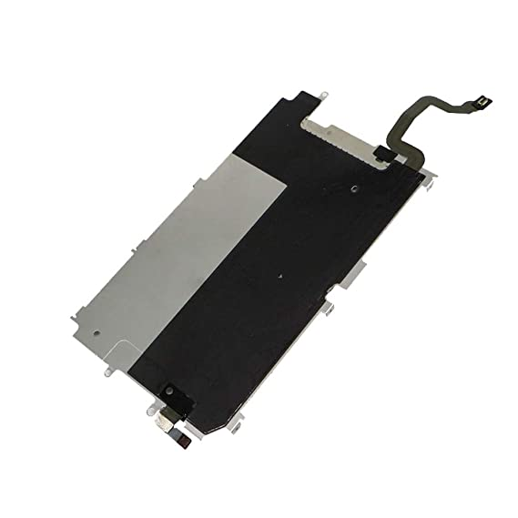 more photos 87ba4 0cdf9 LCD Shield Plate Replacement for iPhone 6, LCD Screen Back Shield Plate  Cover Part with Heat Shield Home Button Flex Cable Replacment for iPhone 6
