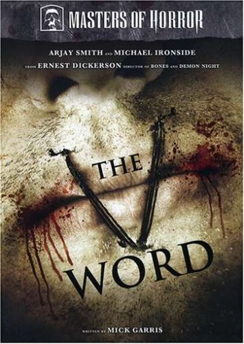 DVD : Masters of Horror: The V Word (Widescreen)