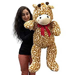 3 Foot Giant Stuffed Giraffe 36 Inch Soft Big Plush Stuffed Animal - 51B0qXY1BmL - 3 Foot Giant Stuffed Giraffe 36 Inch Soft Big Plush Stuffed Animal