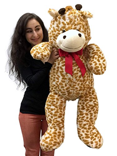 3 Foot Giant Stuffed Giraffe 36 Inch Soft Big Plush Stuffed Animal - 51B0qXY1BmL - 3 Foot Giant Stuffed Giraffe 36 Inch Soft Big Plush Stuffed Animal