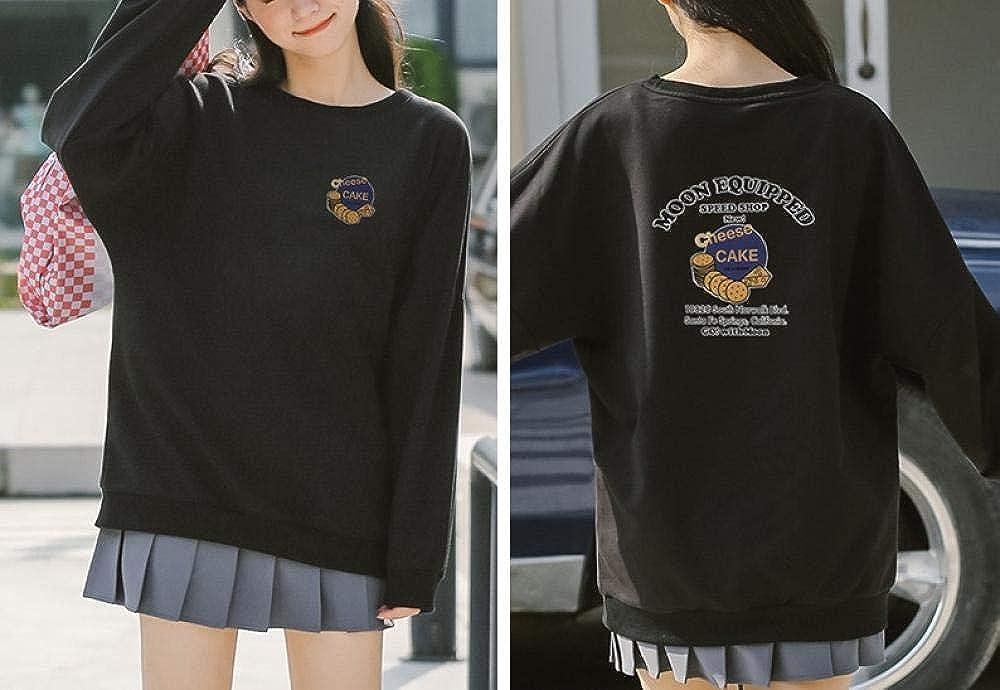 Joker Autumn Sweater Women, Camisa de Manga Larga Nueva, Suelta, principios de otoño, Chaqueta versátil: Amazon.es: Ropa y accesorios