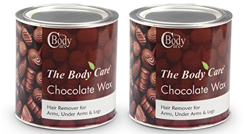 Bodycare Chocolate Hot Wax 600 Grams (Pack Of 2)
