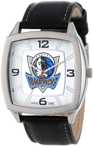 Game Time Men's NBA Retro Series Watch - Dallas - Watch Sport Steel Logo
