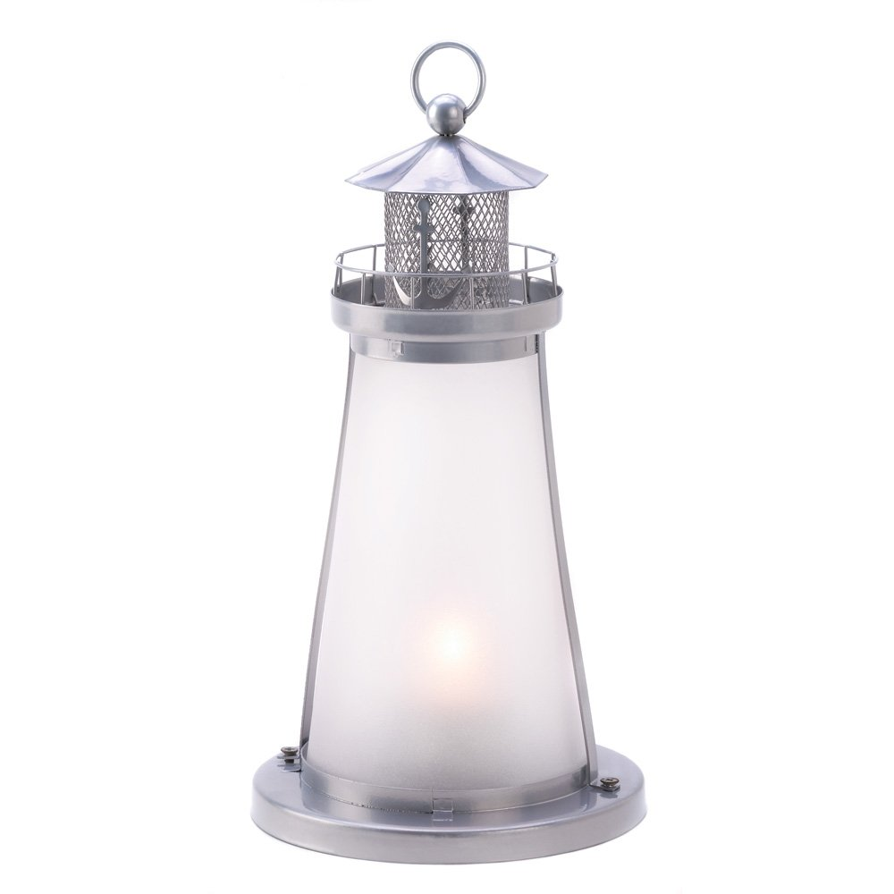 Amazon.com: Gifts U0026 Decor Lookout Lighthouse Figural Votive Candleholder  Lamp: Home U0026 Kitchen