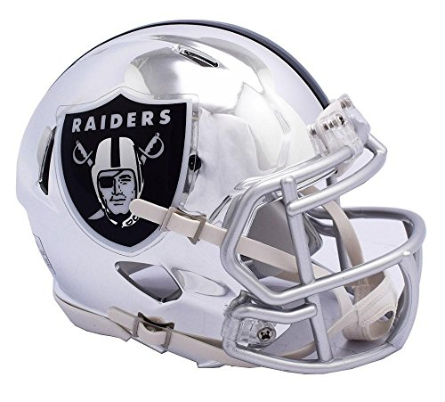 - Riddell OAKLAND RAIDERS NFL Revolution SPEED Mini Football Helmet