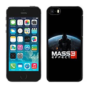NEW Fashion Custom Designed Cover Case For iPhone 5C Mass Effect 3 Black Phone Case