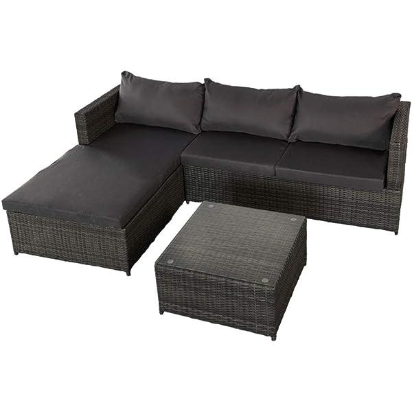 Aktive 61007 Rinconera sofá chaise long y mesa jardín ...