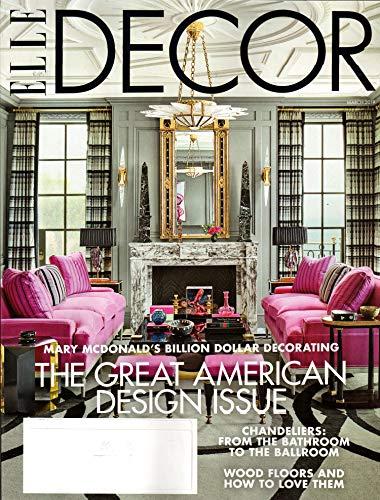 Elle Decor Magazine - Elle Decor Magazine March 2019 | Great American Design Issue