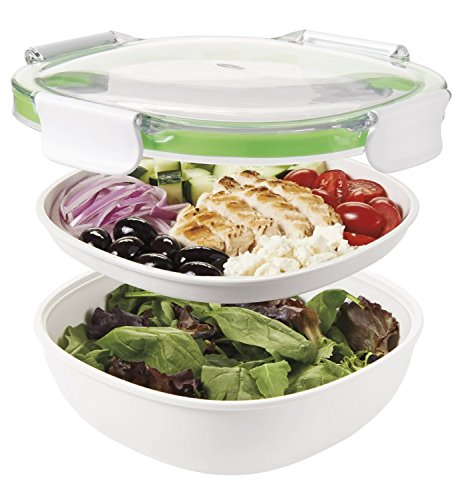 OXO Good Grips Leakproof On-The-Go Salad Container (Set of -