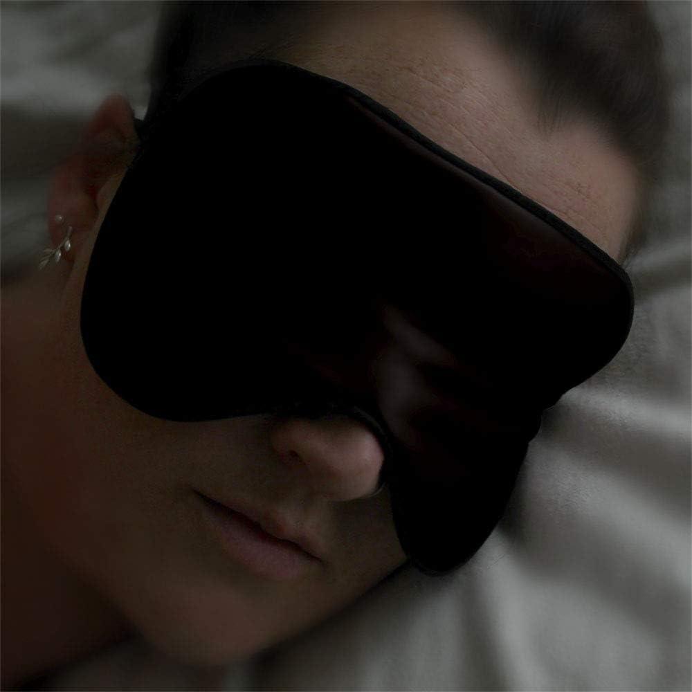 2 a/ños de garant/ía Pluvios 100/% Seda de Mora Antifaz para Dormir Ojos M/áscara de Dormir Anti-Luz