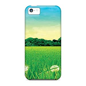 [rfq19857TKBS] - New Danedelion Field Protective Iphone 5c Classic Hardshell Cases