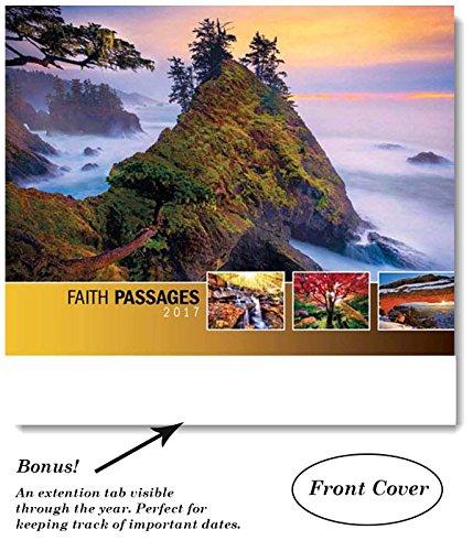 Faith Passages 2017 Wall Calendar- Wall Calendar- 18.5 x 10.5 (Open)