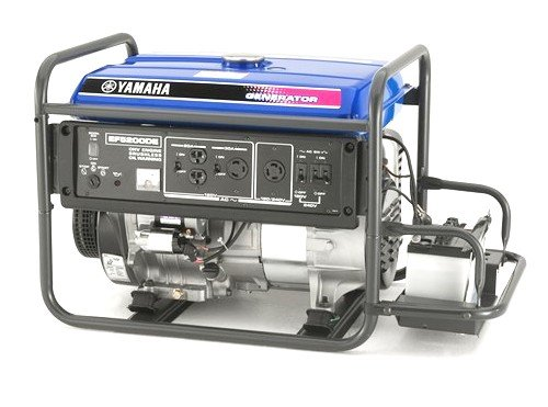 Yamaha EF5200DE, 4500 Running Watts/5200 Starting Watts, Gas Powered Portable Generator, CARB Compliant