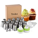 best seller today Russian Piping Tips,20 PCS Ymiko...