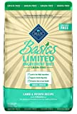 Cheap BLUE Basics Limited Ingredient Diet Adult Small Breed Grain Free Lamb & Potato Dry Dog Food 11-lb