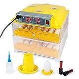 ARKSEN Poultry Hatcher   112 Egg Incubator   Auto Turning   Temperature Control   Incubator Hatcher   LED Push Button