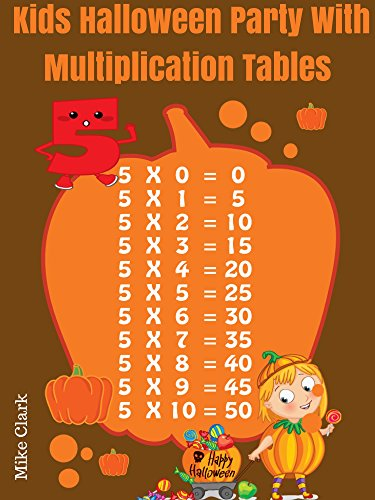 Kids Halloween Party With Multiplication -