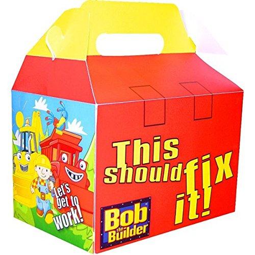 (Amscan Bob The Builder Favor Box, 7-3/4 x 6 x 4,)