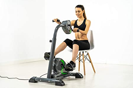 ECO-DE Bicicleta Dual Training estática para piernas y Brazos: Amazon.es: Deportes y aire libre