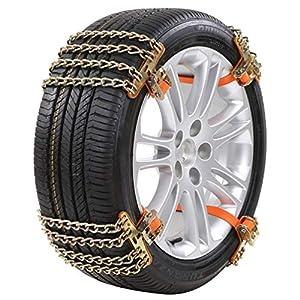 Vosarea voiture neige chaîne antidérapante 4 chaînes conception ceinture roue chaîne neige chaîne hiver sangle pour…