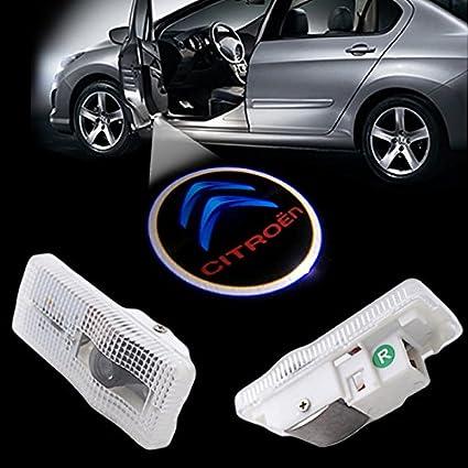 Triumph 2x Citroen Iluminación Entrada LED SMD Wireless proyector ...