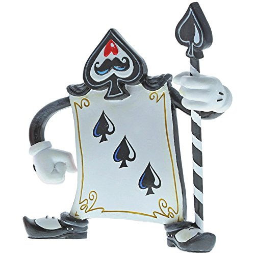 The World of Miss Mindy Disney A29379 Card Guard Black Alice in Wonderland Figurine -
