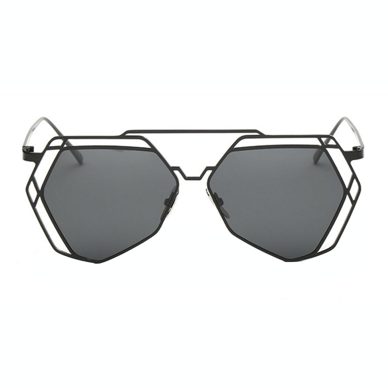 Gafas De Sol De La Personalidad Del Polígono