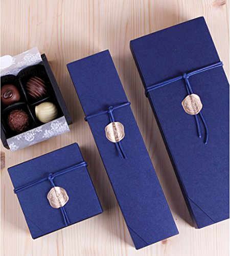 12 Cavity Chocolate Gift Packaging Box Wedding Party Favor Boxes-Set of 10 (12 cavity)