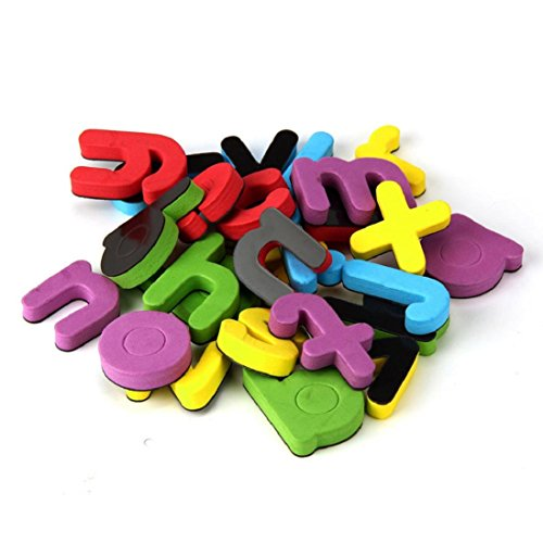 Magnetic Letters & Numbers,Gbell Fridge Magnet Early Learning Educational Kids Christmas Gift (26 Letters)