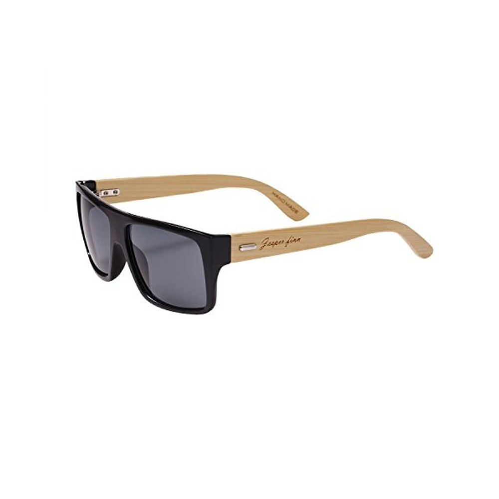 Jasper Finn ® Handmade Mens Bamboo Arm Wooden Sunglasses Shades UV400 Wood Retro Men's Cool Unique Design Handmade Hand Crafted