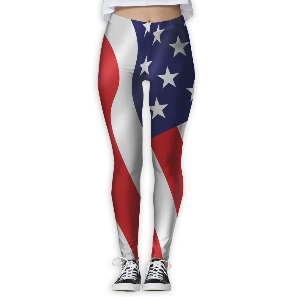 Amazon com: BabylLave American Flag Women Printed Full