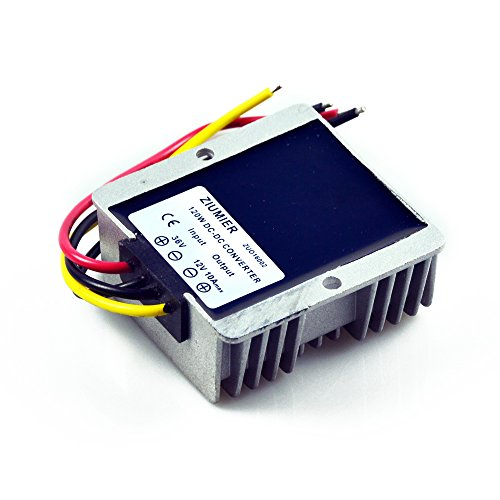 ZIUMIER-DC-to-DC-36V-to-12V-Golf-Cart-Converter-Voltage-Reducer10A120W-Waterproof-Step-Down-Buck-Converter-Regulator-Module-for-Club-Car-LED-DisplayMotor-and-All-Other-12V-Devices