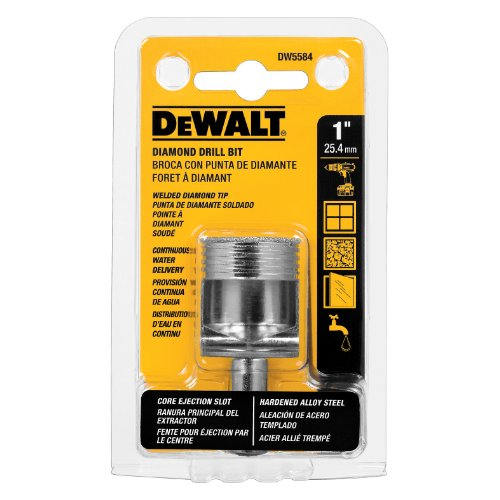 DEWALT DW5584 1-Inch Diamond Drill Bit