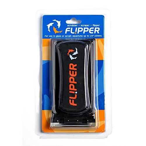 Flipper Aquarium Algae Magnet Cleaner with Two Blades