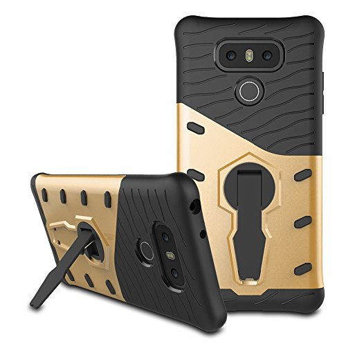 LG G6 Hybrid Case, LG G6 Shockproof Case, Dual...