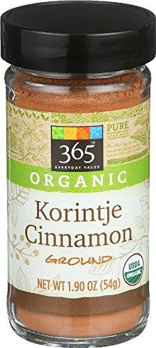(365 Everyday Value, Organic Korintje Cinnamon Ground, 1.9 Ounce)