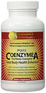 Coenzyme-A Technologies Coenzyme A -- 1000 mg - 90 Capsules