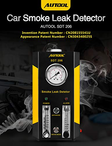 AUTOOL Automotive Pipes Fuel Leakage Detector Diagnositc Tester EVAP Leaks Testing Machine for 12V Vehicle/Motorcycles/Boat (Newest Dual Modes) by AUTOOL (Image #6)