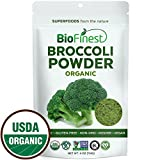 Biofinest 100% Pure Broccoli Powder- Taste and feel the boost of our 100% organic Superfoods Today! Biofinest Broccoli powder is made from 100% premium grade Broccoli, sustainably grown and harvested on native California farms. -Greet supplement for ...