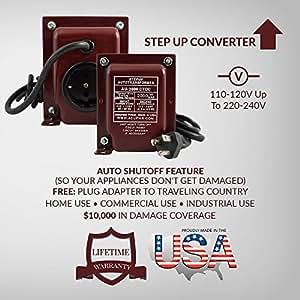 Amazon Com Acupwr Au 2000 2000 Watt 110 120 Volts To 220
