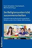 Im Religionsunterricht zusammenarbeiten, , 317020825X