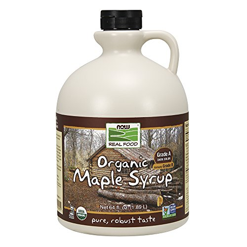 NOW Foods 100% Pure Maple Syrup, 64-Ounce