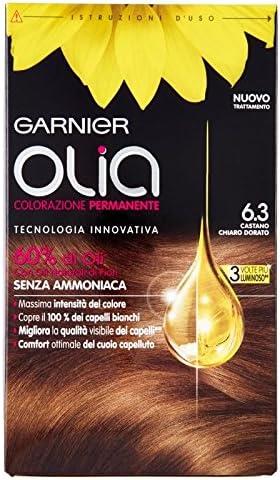 Garnier Olia Coloración permanente 6.3 castaño claro dorado ...